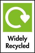 Our products are widely recycled